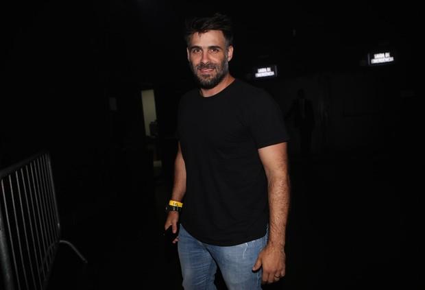 Raoni Carneiro em gravação do DVD de Chitãozinho e Xororó  (Foto: Iwi Onodera/EGO)