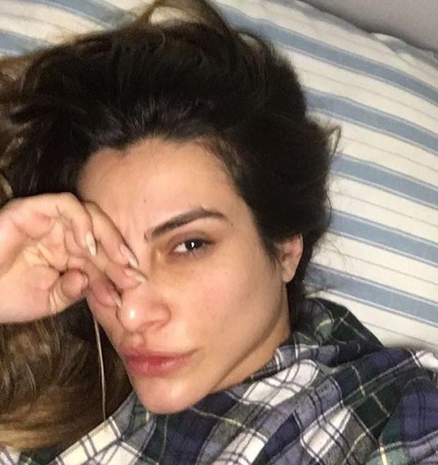 Cleo Pires sem maquiagem (Foto: Reprodução)