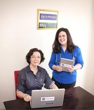 Luiza Granado e Regina Diniz, criadora da Dr. Recomenda (Foto: Divulgação)