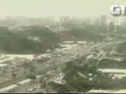 Salvador começa semana com chuva; pista molhada gera acidentes