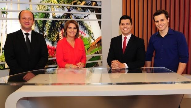 Jornal do Almoço tem nova apresentadora (Foto: Salmo Duarte/Agência RBS)