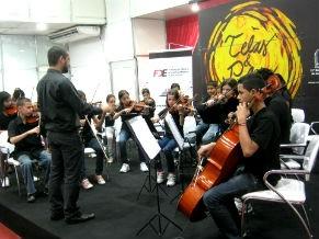 Aulas de musicalização (Foto: Divulgação/ Fundação Bachiana)