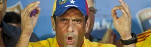 Maduro é 'presidente ilegítimo' antes de recontagem, diz Capriles (AFP PHOTO/RONALDO SCHEMIDT )