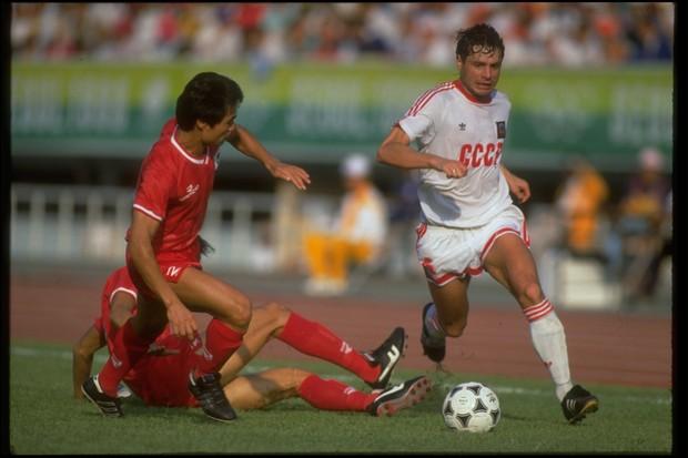 União Soviética - Olimpíada Seul 1988 (Foto: Getty Images)