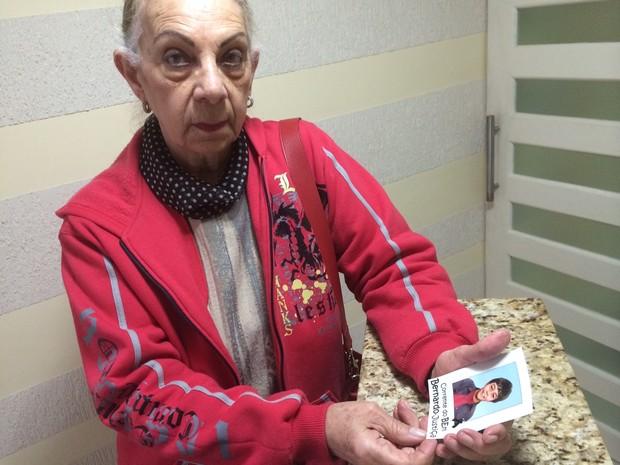 Jussara acredita que a filha, que morreu em 2010, foi assassinada (Foto: Caetanno Freitas/G1)