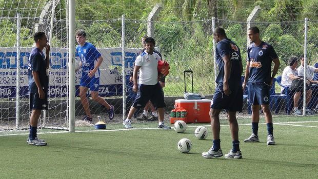 Treino Cruzeiro em Florianopolis (Foto: Tarcisio Badaró / Globoesporte.com)