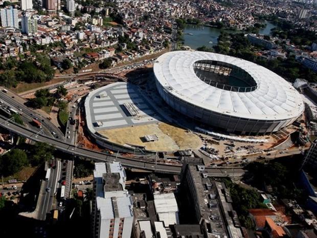 fonte nova (Foto: Elói Corrêa / Governo da Bahia / Divulgação)