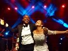 Após casamento, famosos vão à festa de Thiaguinho e Fernanda Souza