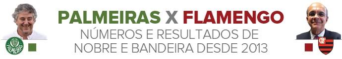 Info Flamengo X Palmeiras (Foto: Infoesporte)