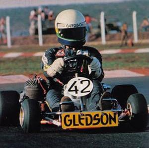 Kartódromo onde correu Ayrton Senna é reativado em Uberlândia (Foto: Luiz Fernando Siquieroli/Arquivo Pessoal)