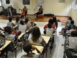 Projeto acontece em escolas da cidade de Campos (Foto: Divulgação/Prefeitura de Campos)