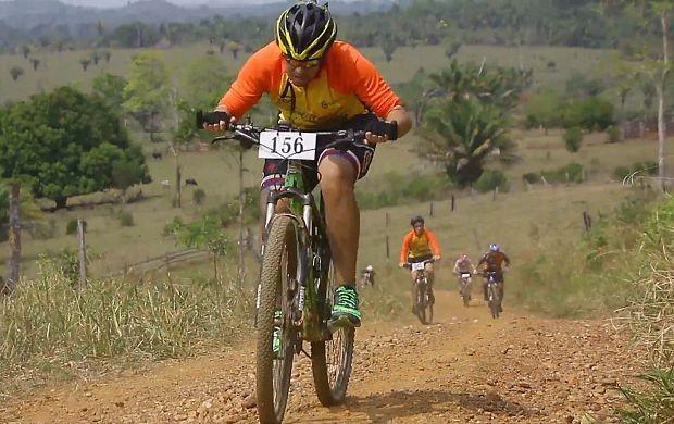 Prova de ciclismo rural é realizada em Ji-Paraná (Foto: Bom Dia Amazônia)