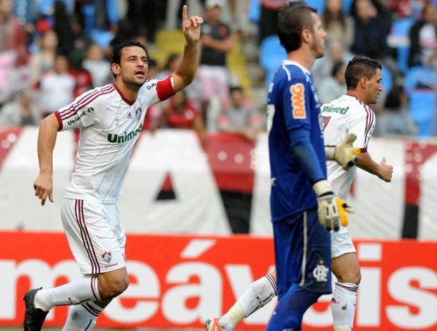 fred fluminense gol flamengo (Foto: André Durão / Globoesporte.com)