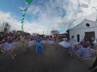 Fantástico mostra a maior festa de São João do mundo em 360°
