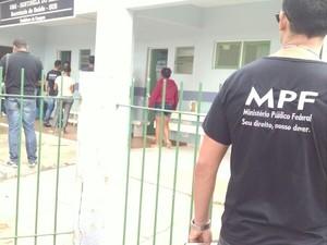 Inspeção ocorreu na manhã desta terça-feira (12), em Sentinela do Imbé  (Foto: Cleber Rodrigues/InterTV)
