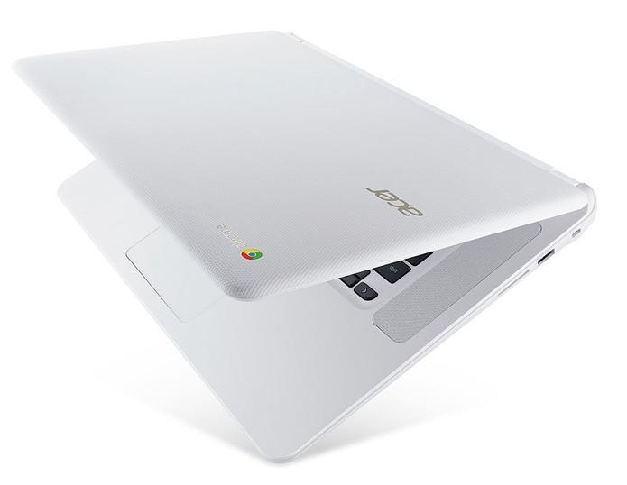 Chromebook 15 tem estrutura reforçada contra danos após impactos leves e quedas (Foto: Divulgação/Acer)