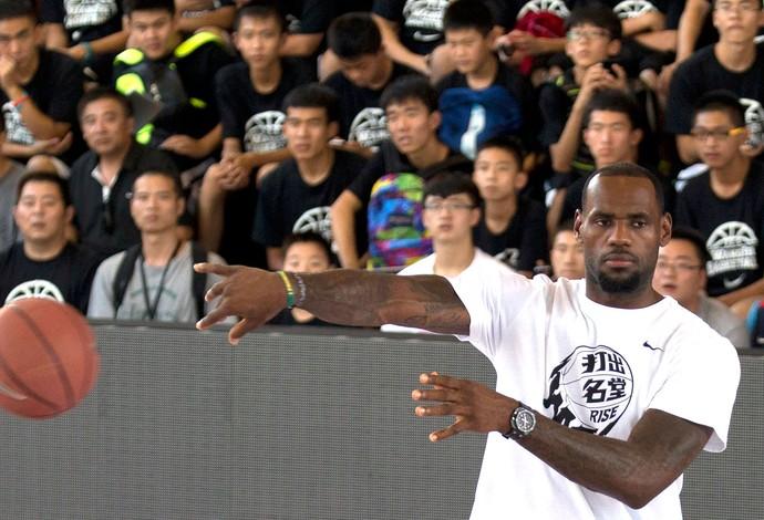 Lebron James NBA China (Foto: Agência AP)
