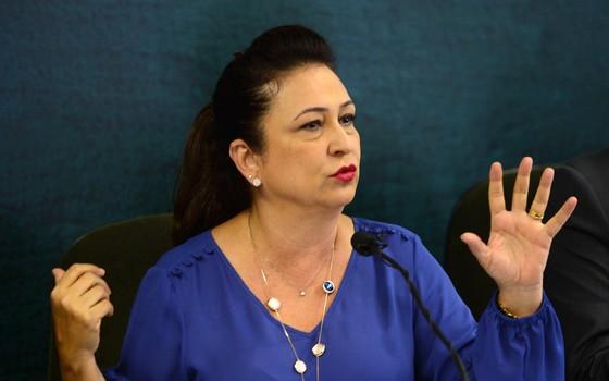 A ministra da Agricultura, Kátia Abreu (Foto: Elza Fiúza/ABr)