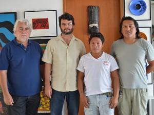Equipe que participou do trabalho  (Foto: Valéria Oliveira/G1)