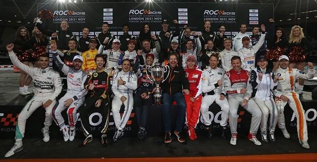 """""""Race of Champions"""", pilotos de diversos países disputam o troféu de melhor do mundo em diversas modalidades do esporte à motor. (Foto: Divulgação/ROC)"""
