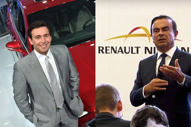 Mark Fields, CEO da Ford (esq.), e Carlos Ghosn, CEO da Renault-Nissan (Foto: Divulgação)