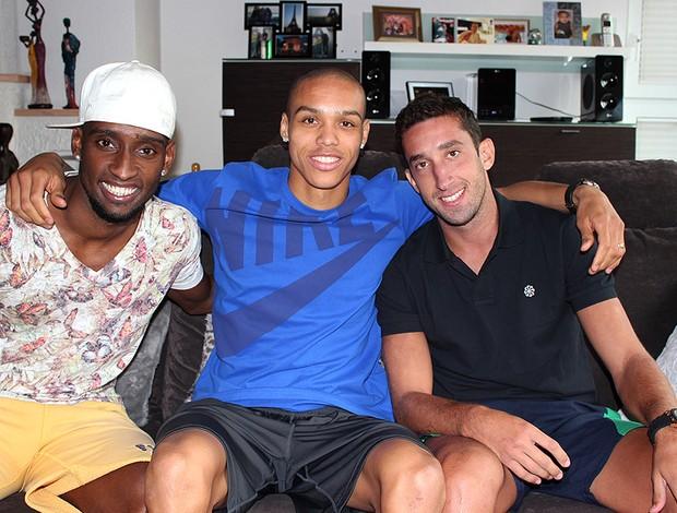 Anderson Bamba entrevista casa amigos (Foto: Clicia Oliveira)