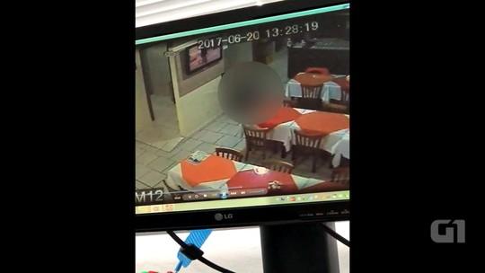 Vídeo mostra empresário sendo morto em restaurante em Imbé