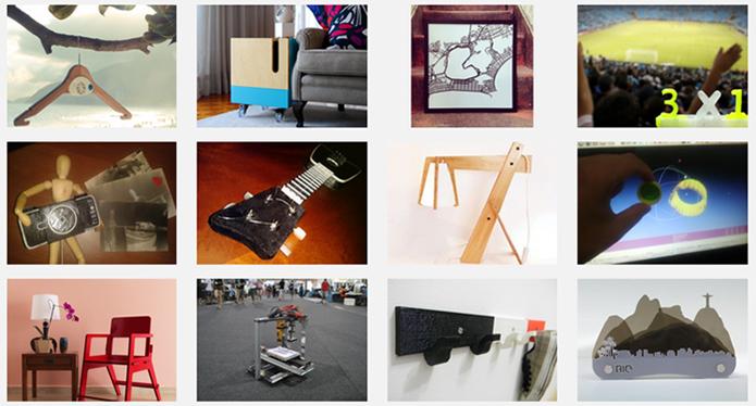 Designoteca reúne projetos de mais de 2 mil profissionais brasileiros (Foto: Reprodução/Designoteca)