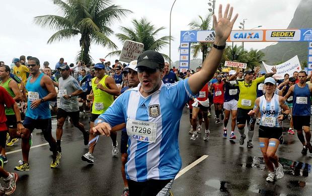 fantasia na meia maratona do rio de janeiro eu atleta (Foto: Alexandre Durão / Globoesporte.com)