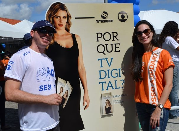 Ação Global em Aracaju acontece no bairro 18 do Forte (Foto: Divulgação/ TV Sergipe)