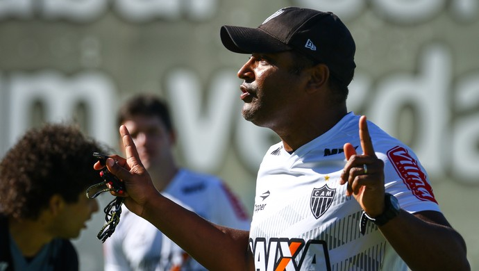 Roger Machado; Atlético-MG (Foto: Bruno Cantini/CAM)