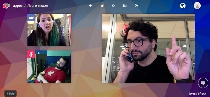 Inicie chamadas de vídeo através do Trello (Foto: Reprodução/André Sugai)