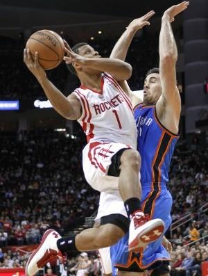 Scott Machado, Houston Rockets, nba (Foto: Agência AP)