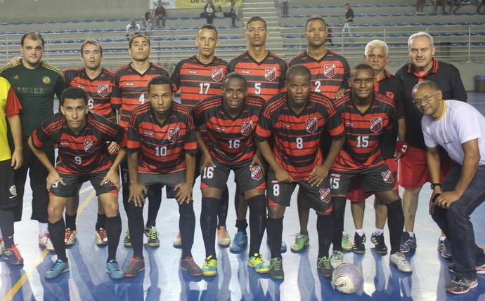 O time do Racing é um dos líderes do Capixaba Adulto de Futsal (Foto: Divulgação/Racing)
