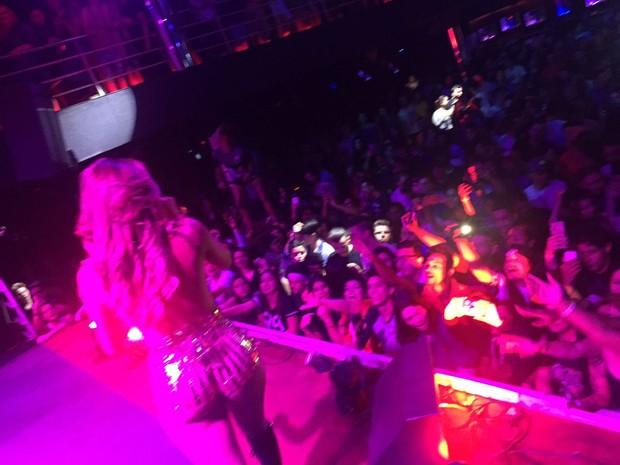 Lexa faz show em Sorocaba (Foto: Divulgação)