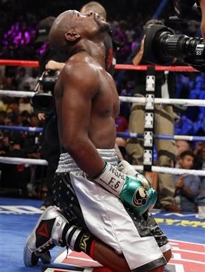 Mayweather x Berto boxe