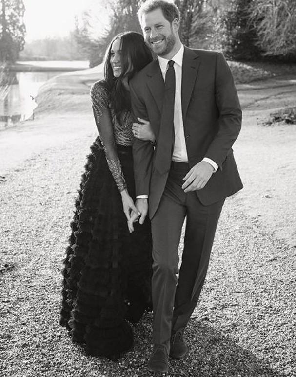 Príncipe Harry e Meghan Markle (Foto: Reprodução/Instagram)