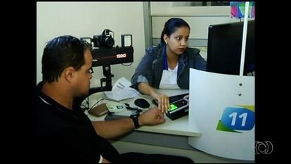 Detran adota cadastramento biométrico para quem vai tirar a CNH, em Goiás