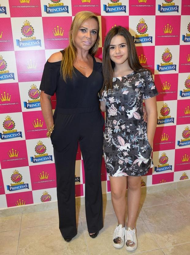 Christina Rocha e Maisa Silva (Foto: Francisco Cepeda / AgNews)