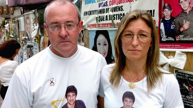 'Choro o que posso e depois tento entender', diz mãe (Luiza Carneiro/G1)