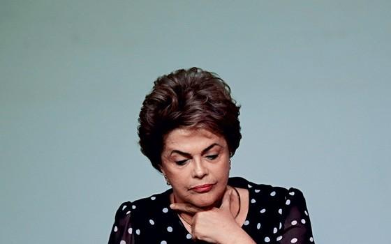 Presidente afastada Dilma Rousseff  (Foto: Ueslei Marcelino / Reuters)