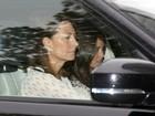 Kate Middleton recebe a visita da mãe e da irmã após dar à luz