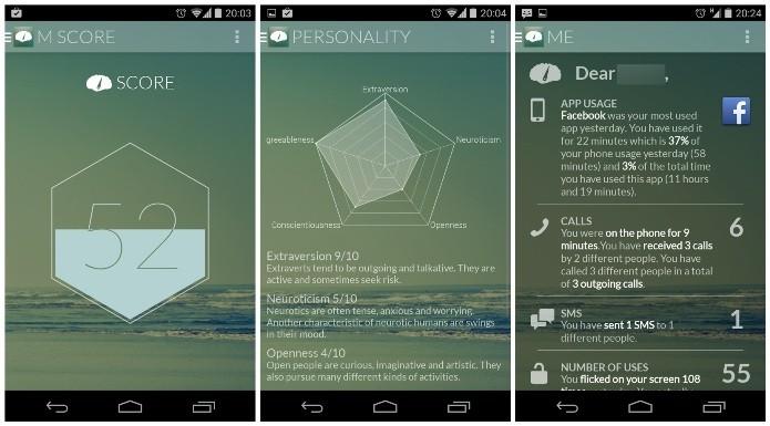 O aplicativo Menthal avalia o nível de vício do usuário de smartphone (Foto: Divulgação)
