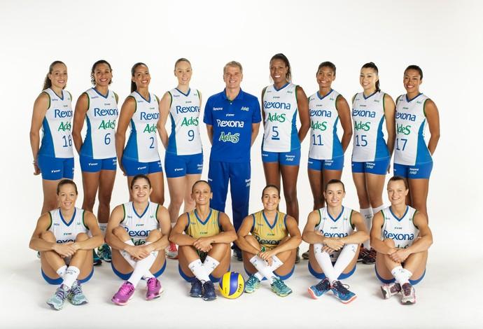 Atletas do Rio de Janeiro em sessão de fotos (Foto: Divulgação)