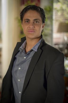 Thammy Miranda como Jô em 'Salve Jorge' (Foto: TV Globo/Alex Carvalho)