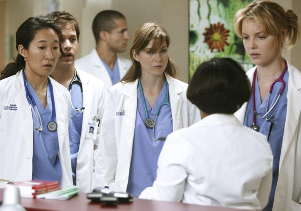 Primeira temporada de Grey's Anatomy (Foto: Reprodução)
