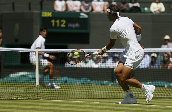 Rafael Nadal x Thomaz Bellucci, Wimbledon 2015 (Foto: Reuters)