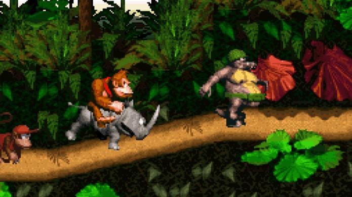 Donkey Kong Country elevou o gorila a um novo patamar entre franquias do Super Nintendo (Foto: Reprodução/The Stock Pot Inn)