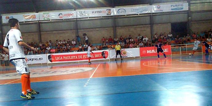 Bauru x AABB/Santo André, Liga Paulista de Futsal (Foto: Rafael Peloso / A.A. FIB)