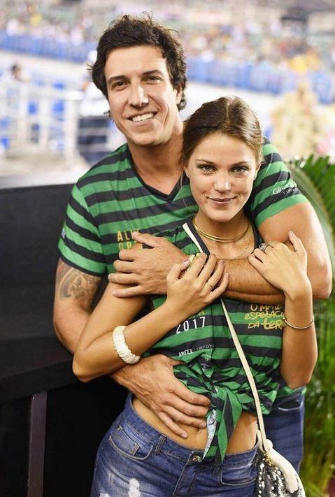 Pamela Tomé e Felipe Reif (Foto: Instagram / Reprodução)